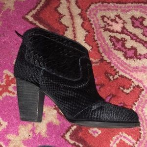 UGG Cow Hide Ankle Booties 5.0
